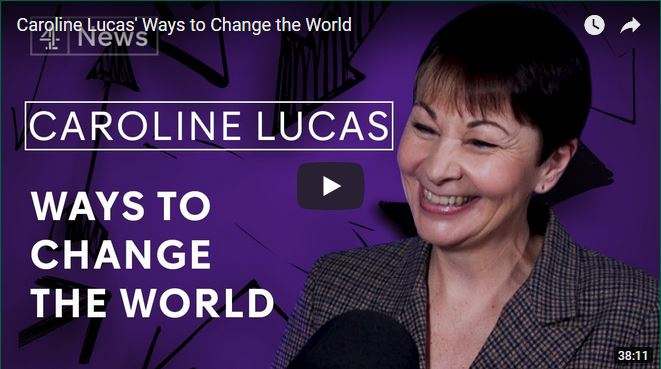 caroline lucas ways to change the world